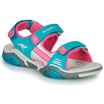 Scarpe Unisex bambino Sandali sport Kangaroos Sandalshine Blu / Rosa