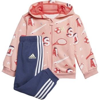 Abbigliamento Bambino Tuta adidas Originals fm6367 Rosa