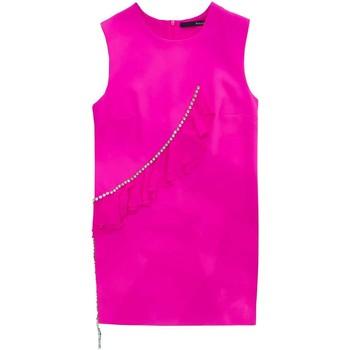 Abbigliamento Donna Abiti corti Annarita N Abito con pietre Rosa