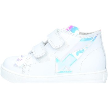 Scarpe Bambina Sneakers alte Falcotto FEBE 001.2014627.02 Sneakers Bambina BIANCO BIANCO