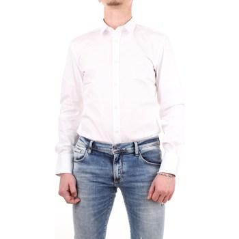 Abbigliamento Uomo Camicie maniche lunghe Antony Morato mmsl00375-fa450001 Bianco