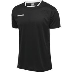 Abbigliamento Uomo T-shirt maniche corte Hummel Maillot  Authentic Poly HML noir/blanc