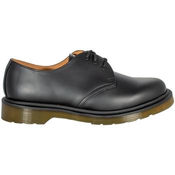Scarpe Derby Dr Martens 1461 PW 10078001 BLACK SMOOTH Black