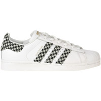 Scarpe Donna Sneakers Adidas By Dressed Sneakers Superstar customized Bianco