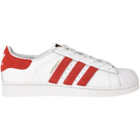 Scarpe Donna Sneakers basse Adidas By Dressed Sneakers Superstar customized Bianco
