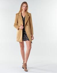 Abbigliamento Donna Cappotti Betty London LORDLY Beige