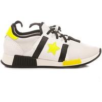 Scarpe Unisex bambino Sneakers basse Ciao Sneakers Bassa Bambini Bianco-Giallo 4694 bianco, giallo