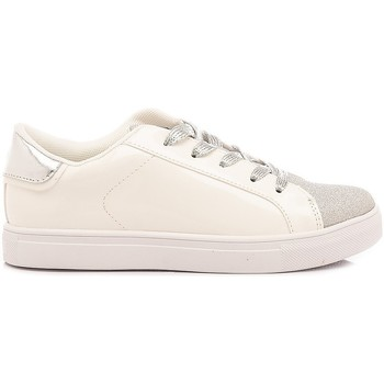 Scarpe Bambina Sneakers basse Crime London Sneakers Bambina Beat Bianco bianco