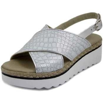 Scarpe Donna Sandali Osvaldo Pericoli Sandalo grigio/argento