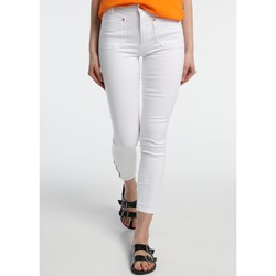 Abbigliamento Donna Jeans slim Lois Jean  Blanc Slim 206992041/501 Bianco