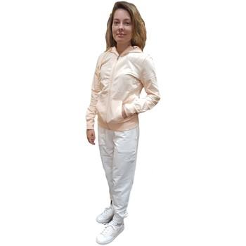 Abbigliamento Donna Tuta Emporio Armani EA7 Tuta intera  3HTV61 TJ31Z Donna Rosa chiaro e bianco Rosa
