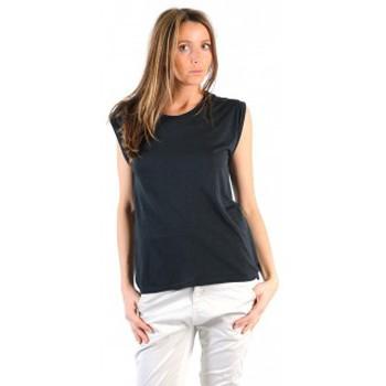Abbigliamento Donna T-shirt maniche corte American Vintage TOP JAC60 CARBONE Grigio