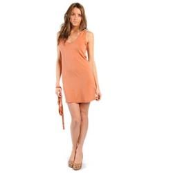 Abbigliamento Donna Vestiti American Vintage ROBE NOU28 ROUILLE Arancio