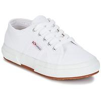 Scarpe Bambino Sneakers basse Superga 2750 KIDS Bianco