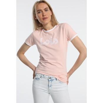 Abbigliamento Donna T-shirt maniche corte Lois T Shirt Rose 420472094 Rosa