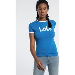 Abbigliamento Donna T-shirt maniche corte Lois T Shirt Bleu 420472094 Blu