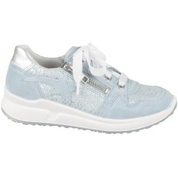Scarpe Unisex bambino Sneakers basse Superfit 06061858500 Argento, Celeste