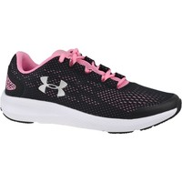 Scarpe Bambina Running / Trail Under Armour GS Charged Pursuit 2 Nero, Rosa