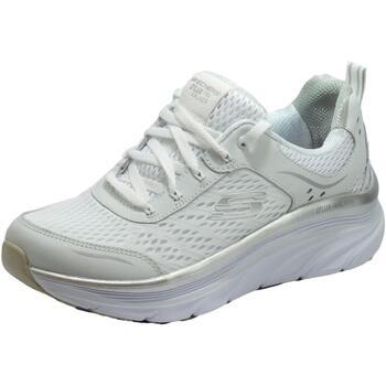 Scarpe Donna Fitness / Training Skechers Dlux Walker Infinite Motion White Scarpe Sportive Donna tessuto White
