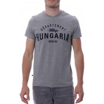 Abbigliamento Uomo T-shirt maniche corte Hungaria H-16TLMOBOLV Grigio