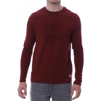 Abbigliamento Uomo T-shirts a maniche lunghe Hungaria H-16TLMOCOFR Rosso