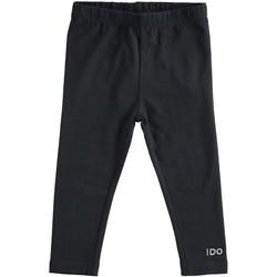 Abbigliamento Bambina Leggings Ido 4J192 Nero