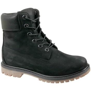 Scarpe Donna Sneakers alte Timberland 6 IN Premium Boot W Nero
