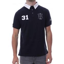 Abbigliamento Uomo Polo maniche corte Hungaria H-16TLMODORE Blu