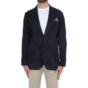 Abbigliamento Uomo Giacche / Blazer The Jack Leathers SAVILLE-CONTRASTSUED Blazer Uomo nd nd
