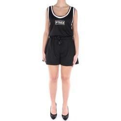 Abbigliamento Donna Tuta jumpsuit / Salopette Pyrex 40136 Corte Donna Nero Nero
