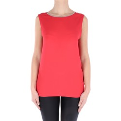 Abbigliamento Donna Top / Blusa Fabiana Filippi TP91217-V424 Canotte Donna Rosso Rosso