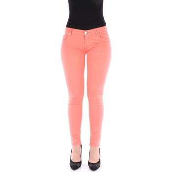 Abbigliamento Donna Jeans skynny Nenette 17BB-CUMINO Corallo