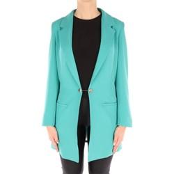 Abbigliamento Donna Giacche / Blazer Dramée D066B Blazer Donna Verde Verde