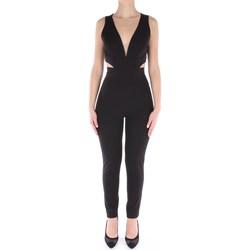 Abbigliamento Donna Tuta jumpsuit / Salopette Dramée D090 Da Sera Donna Nero Nero