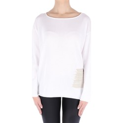 Abbigliamento Donna Top / Blusa Fabiana Filippi MA23519-ST75 Girocollo Donna Bianco Bianco
