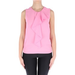Abbigliamento Donna Top / Blusa Blugirl 7774 Senza Maniche Donna Rosa Rosa
