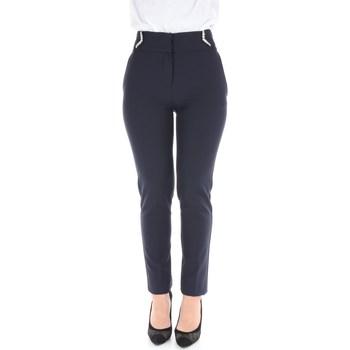 Abbigliamento Donna Pantaloni da completo Blugirl 7772 Blu navy