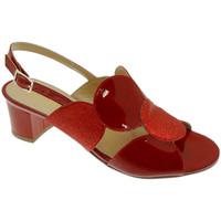 Scarpe Donna Sandali Soffice Sogno SOSO20123ro rosso