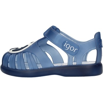 Scarpe Bambino Sandali Igor - Gabbietta blu S10249-063 BLU