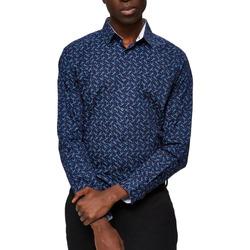Abbigliamento Uomo Camicie maniche lunghe Selected 16058640 Blu