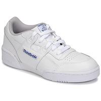 Scarpe Unisex bambino Sneakers basse Reebok Classic WORKOUT PLUS Bianco