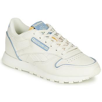 Scarpe Sneakers basse Reebok Classic CL LTHR Bianco
