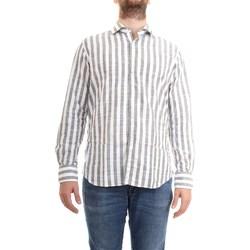 Abbigliamento Uomo Camicie maniche lunghe Xacus 61243.002 Bianco