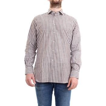 Abbigliamento Uomo Camicie maniche lunghe Xacus 61201.005 Marrone