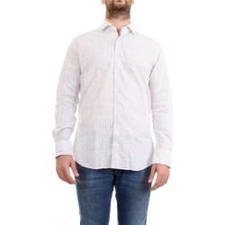 Abbigliamento Uomo Camicie maniche lunghe Xacus 61243.001 bianco