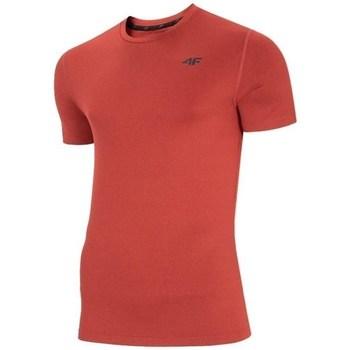 Abbigliamento Uomo T-shirt maniche corte 4F TSMF003 Rosso