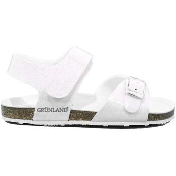 Scarpe Unisex bambino Sandali Grunland 424 - SB1257 Bianco