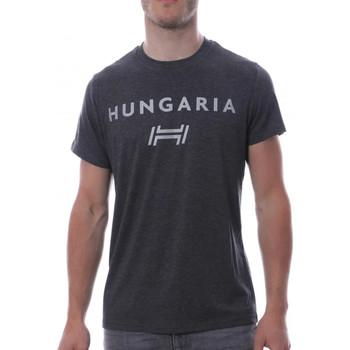 Abbigliamento Uomo T-shirt maniche corte Hungaria H-15TOUYBOPS Grigio