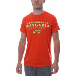 Abbigliamento Uomo T-shirt maniche corte Hungaria H-15TOUYBOPS Arancio