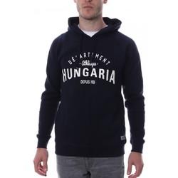 Abbigliamento Uomo Felpe Hungaria H-16TLMOFOLE Blu
